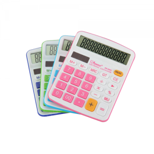 Calculator-Coloured-12-Digit-Duel-Powered-500x500